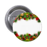holidays pinback button