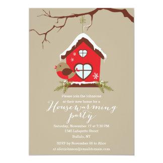 Holidays Robin Housewarming Party Invitation
