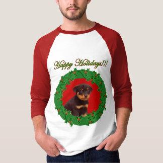 Holidays Rottweiler shirt
