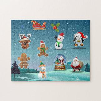 Holidays Scene Jigsaw Puzzle