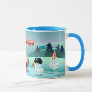 Holidays Scene Mug