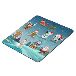 Holidays Scene Puzzle Coaster