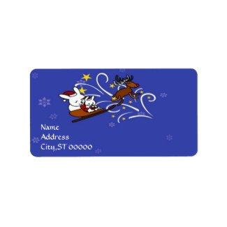Holidays Season label