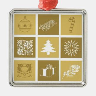 Holidays Symbol Gold Ornament