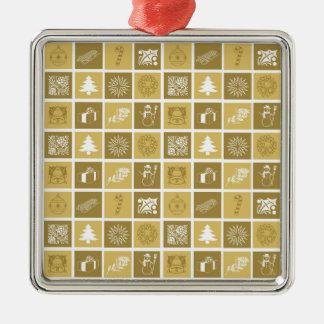 Holidays Symbol Gold Ornament 2