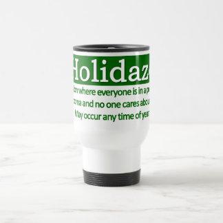 Holidaze Wide Coffee Mugs