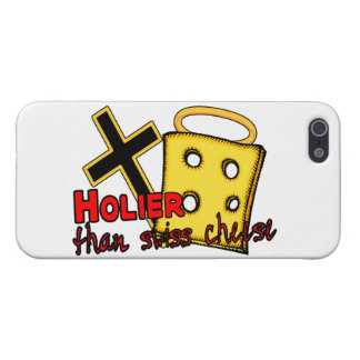 Holier Than Swiss Cheese Case For iPhone 5