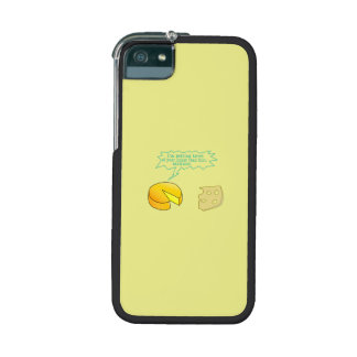 Holier Than Thou Attitude Cheese Cover For iPhone 5/5S