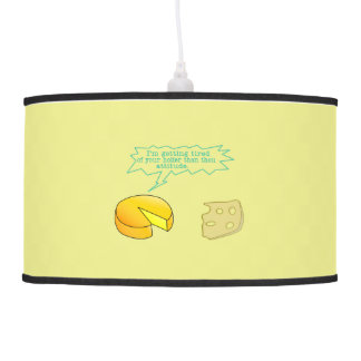 Holier Than Thou Attitude Cheese Ceiling Lamp