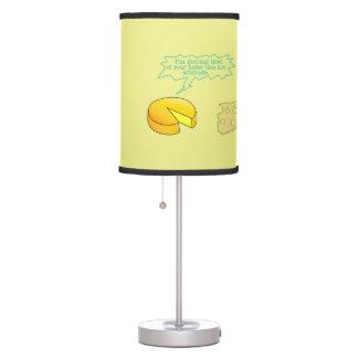Holier Than Thou Attitude Cheese Desk Lamp