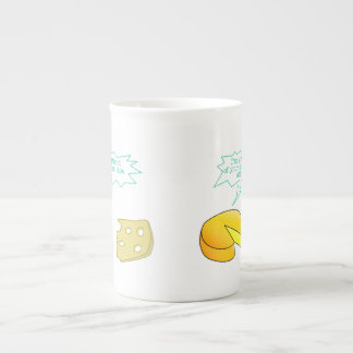 Holier Than Thou Attitude Cheese Tea Cup
