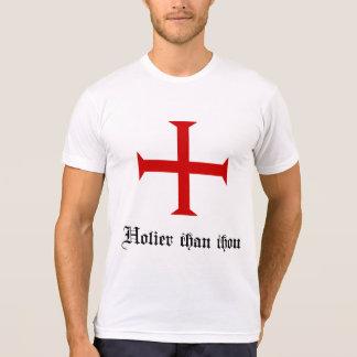Holier Than Thou   Templar Cross   Funny T-Shirt