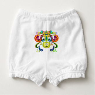 holiES - abstract happy holy Cow + your ideas Diaper Cover