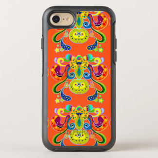 holiES - abstract happy holy Cow + your ideas OtterBox Symmetry iPhone 8/7 Case