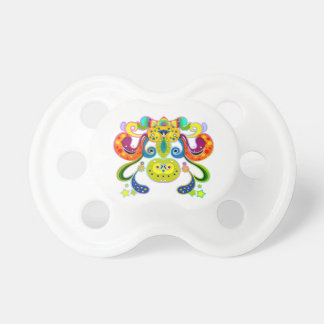 holiES - abstract happy holy Cow + your ideas Pacifier