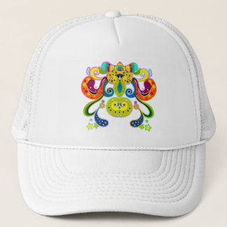 holiES - abstract happy holy Cow + your ideas Trucker Hat