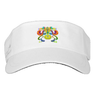 holiES - abstract happy holy Cow + your ideas Visor