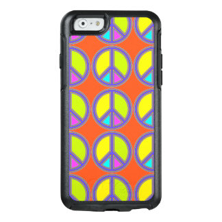 holiES - colorful PEACE sign + your ideas OtterBox iPhone 6/6s Case