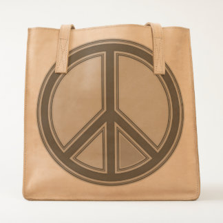holiES - colorful PEACE sign + your ideas Tote