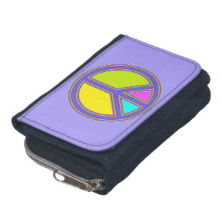 holiES - colorful PEACE sign   your ideas Wallet