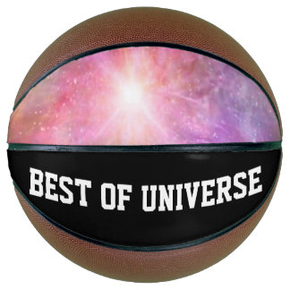 holiES - colorful universe powder clouds Basketball