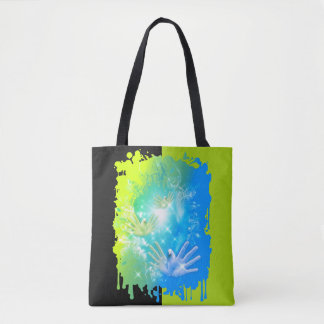 holiES - Flying Hands Pigeons ART Tote Bag