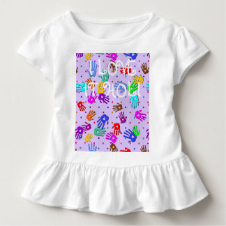 holiES - hand dots colored pattern 1 Toddler T-shirt