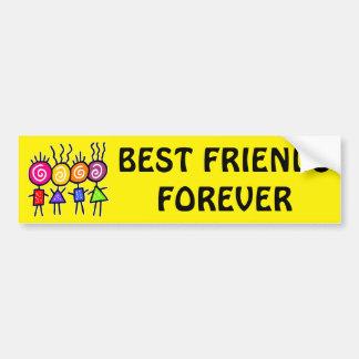 holiES - HOLI BEST FRIENDS + your ideas Bumper Sticker