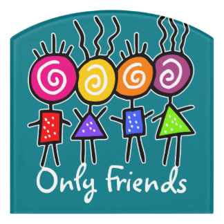 holiES - HOLI BEST FRIENDS + your ideas Door Sign