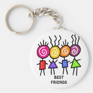 holiES - HOLI BEST FRIENDS + your ideas Keychain