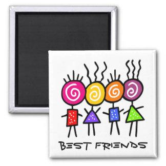 holiES - HOLI BEST FRIENDS + your ideas Magnet