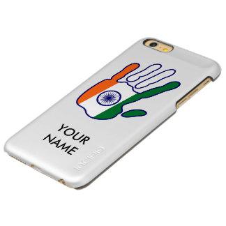 holiES - India Flag Hand + your name Incipio Feather Shine iPhone 6 Plus Case