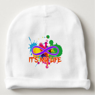 holiES - Lemniscate - It's my Life Splashes Baby Beanie