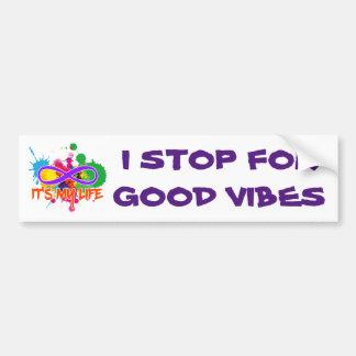 holiES - Lemniscate - It's my Life Splashes Bumper Sticker