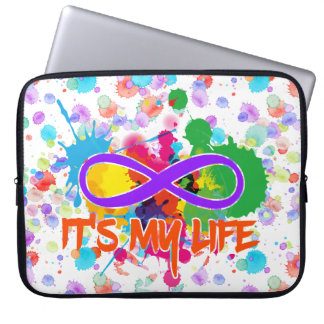 holiES - Lemniscate - It's my Life Splashes Computer Sleeves