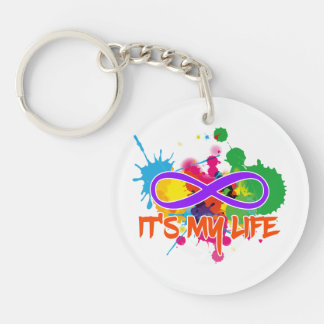 holiES - Lemniscate - It's my Life Splashes Keychain