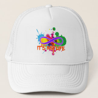 holiES - Lemniscate - It's my Life Splashes Trucker Hat