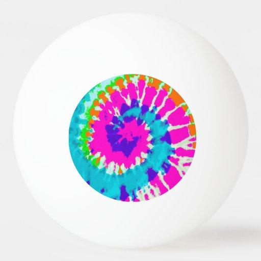 holiES - Power Spiral Batik Style Ping-Pong Ball | Zazzle