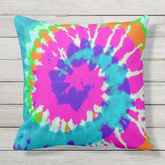 holiES - Power Spiral Batik Style Throw Pillow