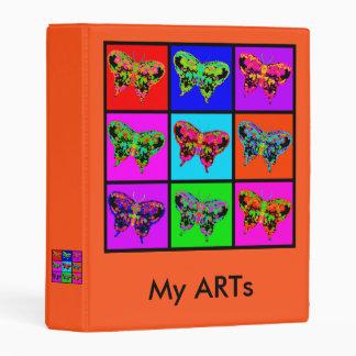 holiES - Psychedelic Butterflies Mosaic Mini Binder