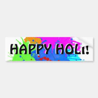 holiES - Splashes round 2 + your ideas Bumper Sticker