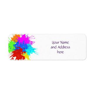 holiES - Splashes round 2 + your ideas Label