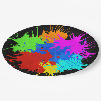 holiES - Splashes round 2 + your ideas Paper Plate