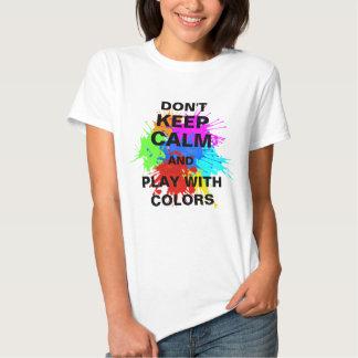 holiES - Splashes round 2 + your ideas T Shirt