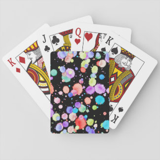 holiES - Splatter multicolored 1 + your backgr. Card Deck