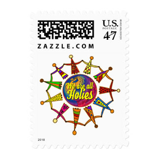 holiES - WE ARE ALL HOLIES Postage