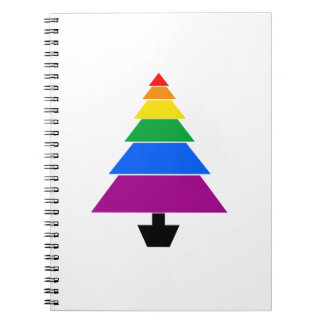 HOLIGAY TREE -.png Spiral Note Book