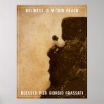 Holiness - Pier Giorgio Frassati bendecido Poster