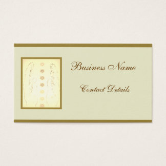 Holistic design business card