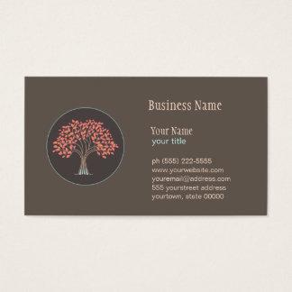 Holistic Healing Tree Business Card